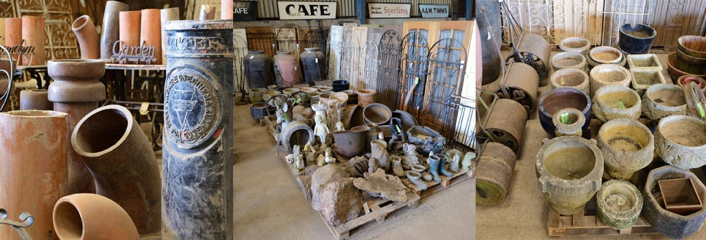 Assorted reclaimed home & garden products