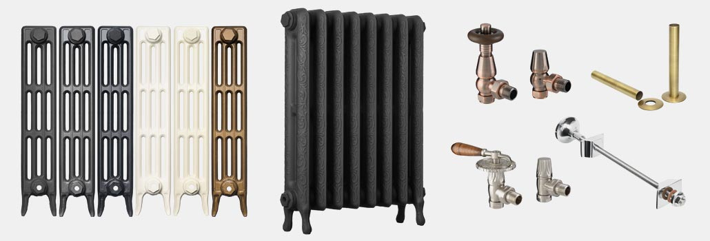 Cast iron radiators, valves & accessories