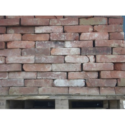 "Reclaimed Handmade bricks - 2 1/4"" - 2 3/8"". (CDC-101)"