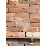 "Reclaimed Finish Rustic Red / Brindle 2 3/4"" - 2 7/8"" Handmade Bricks (CDC-110)"
