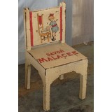 Ivory Painted Little Girl Chair (CDC-GIRLCHAIR)