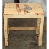 Ivory Painted Little Girl Table (CDC-GIRLTABLE)