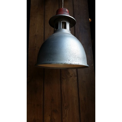 Reclaimed Industrial Bay lights (Large) (CDC-INDLIGHT-REDTOP)