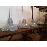 RECLAIMED INDUSTRIAL CRYSELCO SHADES (8 GREY & 1 GREEN) (CDC-INDSHADES)
