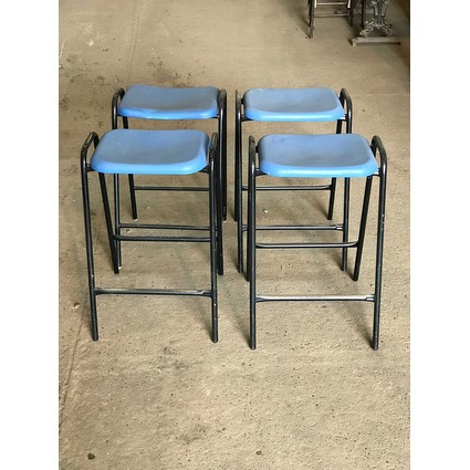 Reclaimed School Laboratory Stools (CDC-LABSTOOLS)