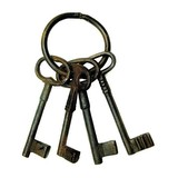 Large Bunch of Rustic Keys (CDC-LG-KEYS)