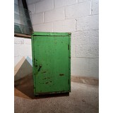 Reclaimed Industrial Cabinet Green (CDC-RECINDCABGR)