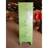 Reclaimed Industrial Lockers Green Steel (CDC-RECINDLOCKERS)