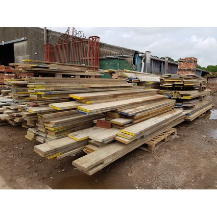 Reclaimed scaffold boards various lengths £1/ft (CDC-SCAFFOLD-BOARD)