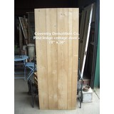 Internal Pine Door - Traditional - Cottage - Ledged - Made to Measure - Straight edged (DOOR-PINE-SQE)